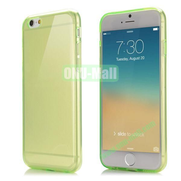 Smooth Slim TPU Case for iPhone 6 Plus 5.5 inch (Green)