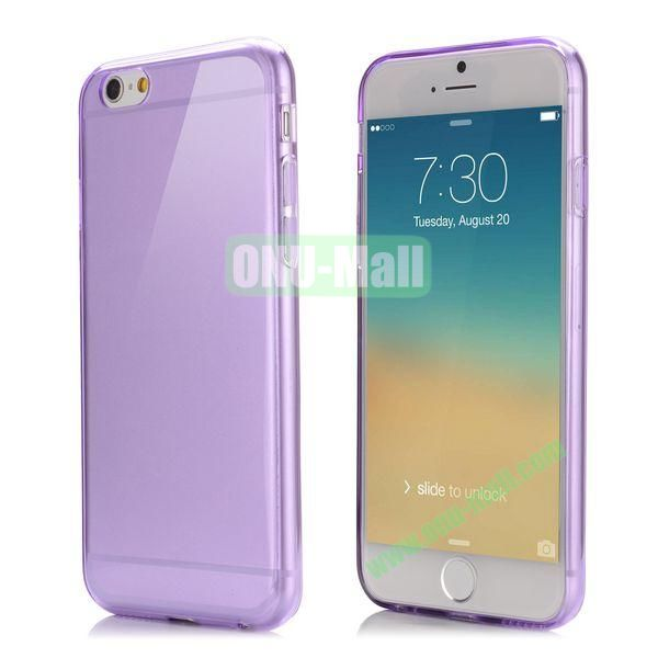 Smooth Slim TPU Case for iPhone 6 Plus 5.5 inch (Purple)