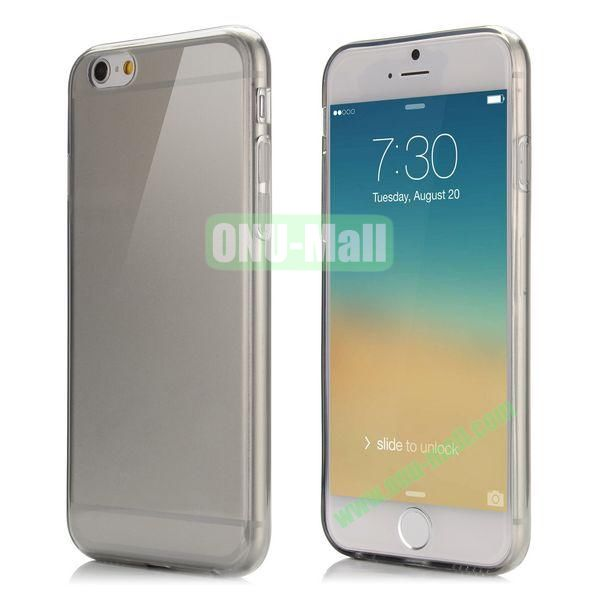 Smooth Slim TPU Case for iPhone 6 Plus 5.5 inch (Grey)