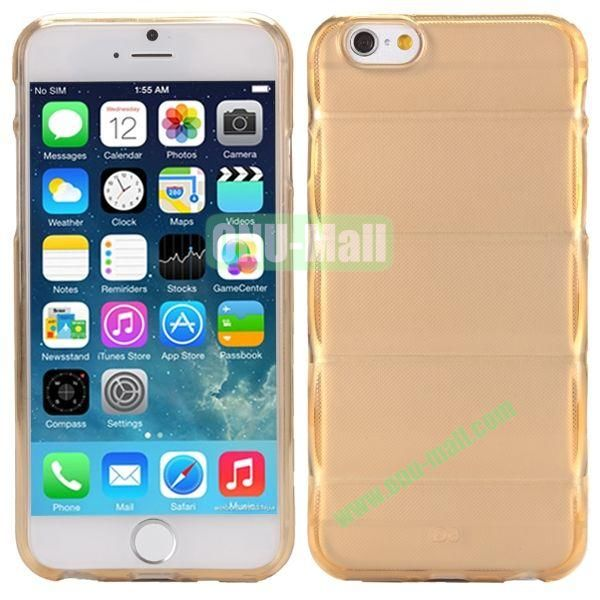 Body Armour Anti-Skid Design TPU Case for iPhone 6 Plus 5.5 inch (Brown)