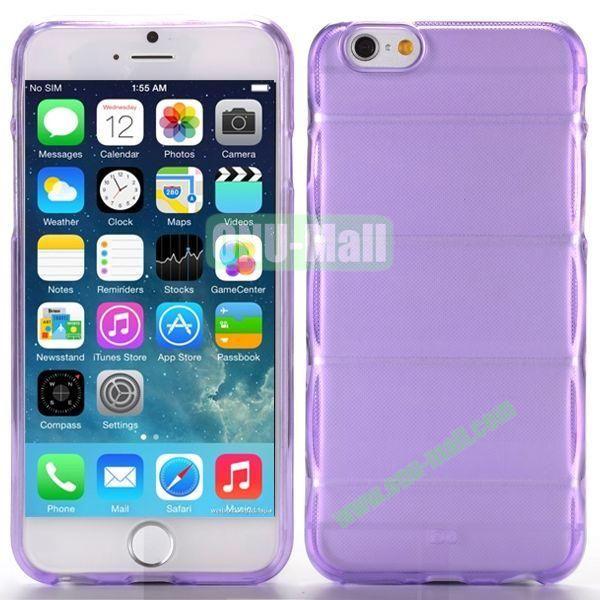 Body Armour Anti-Skid Design TPU Case for iPhone 6 Plus 5.5 inch (Purple)