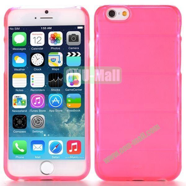 Body Armour Anti-Skid Design TPU Case for iPhone 6 Plus 5.5 inch (Rose)