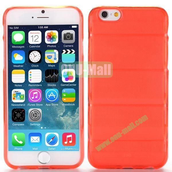 Body Armour Anti-Skid Design TPU Case for iPhone 6 Plus 5.5 inch (Red)