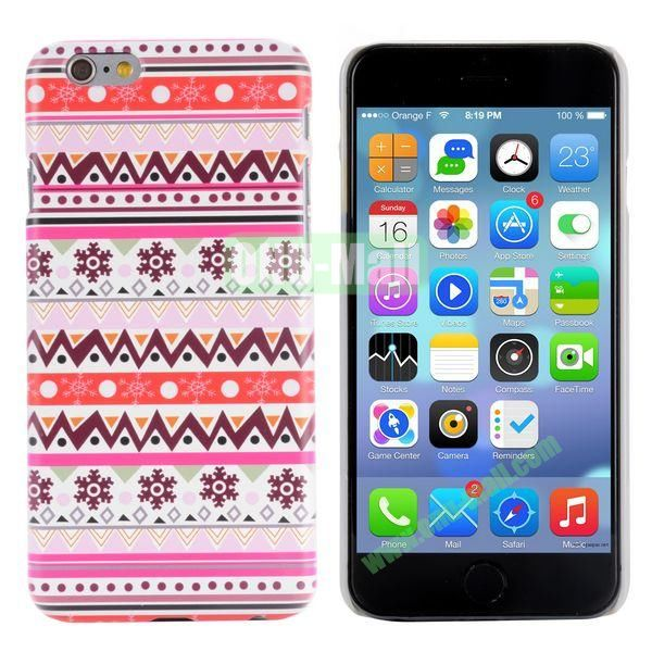 Special Pattern PC Hard Case for iPhone 6 Plus 5.5 inch (Tribal Style)