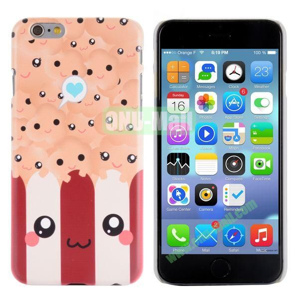 Special Pattern PC Hard Case for iPhone 6 Plus 5.5 inch (Smiling Face)