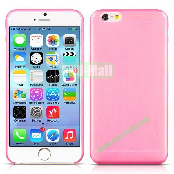 HOCO Thin Series Frosted TPU Case for iPhone 6 4.7 Inch (Pink)