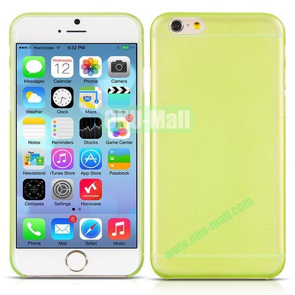 HOCO Thin Series Frosted TPU Case for iPhone 6 4.7 Inch (Yellow)