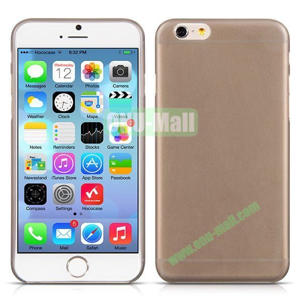HOCO Thin Series Frosted TPU Case for iPhone 6 4.7 Inch (Brown)