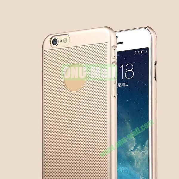 TOTU Design Ambulatory Gold Series Elegant King Style Smooth Surface Hard PC Case for iPhone 6 4.7 inch (Gold)