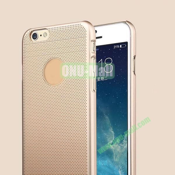 TOTU Design Ambulatory Gold Series Classic Noble Style Smooth Surface Hard PC Case for iPhone 6 4.7 inch