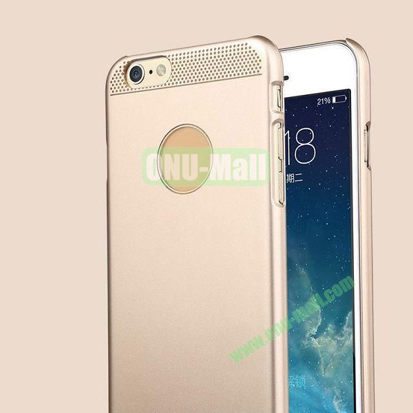 TOTU Design Ambulatory Gold Series Glamor Queen Style Smooth Surface Hard PC Case for iPhone 6 4.7 inch