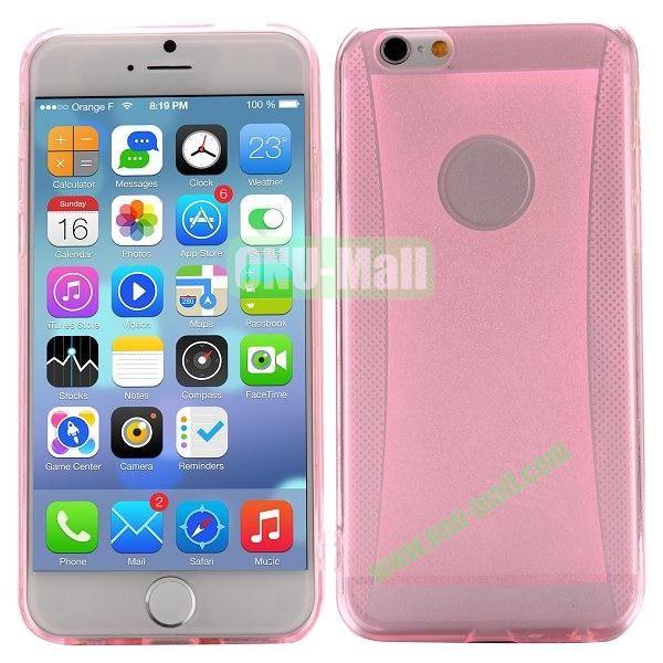 Glitter Powder Design TPU Case For iPhone 6 4.7 inch (Pink)