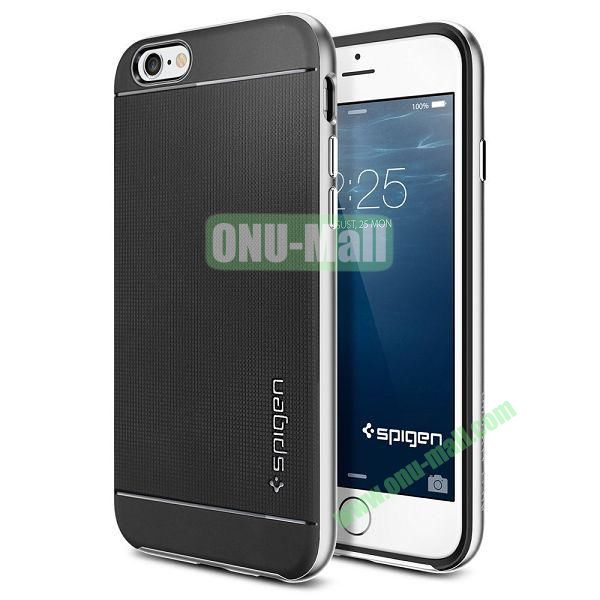 Neo Hybrid PC and TPU Case for iPhone 6 4.7 inch (Black and Silver)