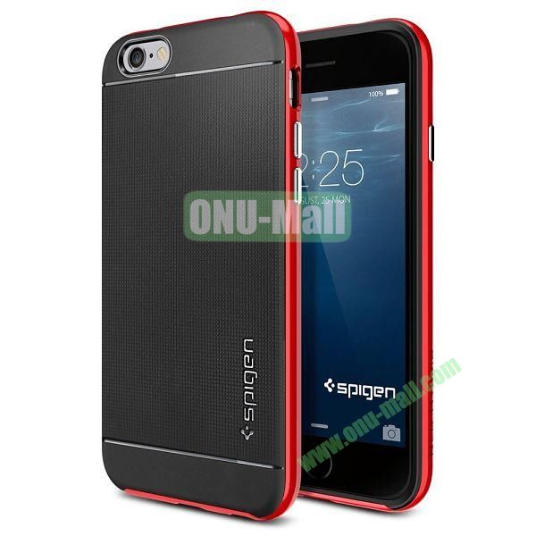Neo Hybrid PC and TPU Case for iPhone 6 Plus 5.5 inch (Black and Red)