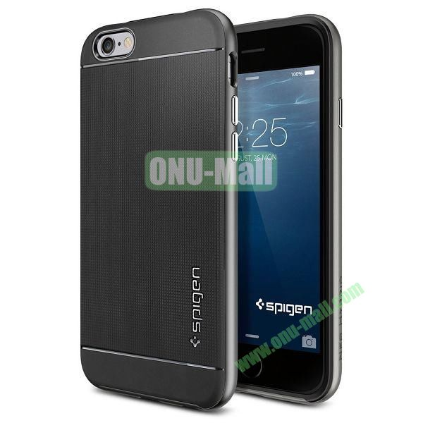 Neo Hybrid PC and TPU Case for iPhone 6 4.7 inch (Black and Grey)