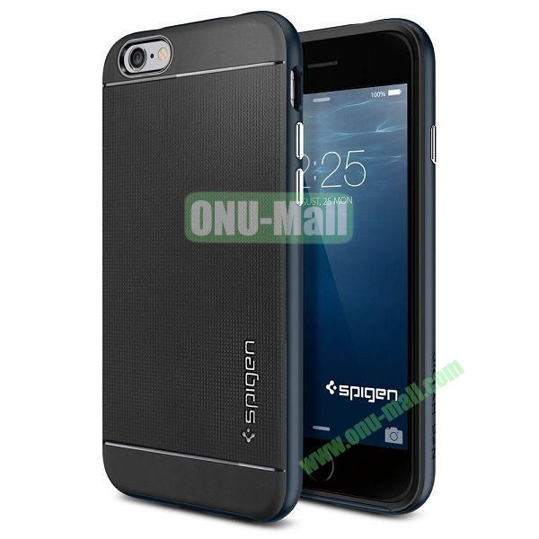 Neo Hybrid PC and TPU Case for iPhone 6 Plus 5.5 inch (Black and Blue)