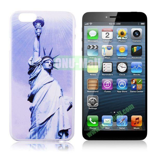 New Arrival Statue of Liberty Pattern Hard Case for iPhone 6 Plus 5.5 inch