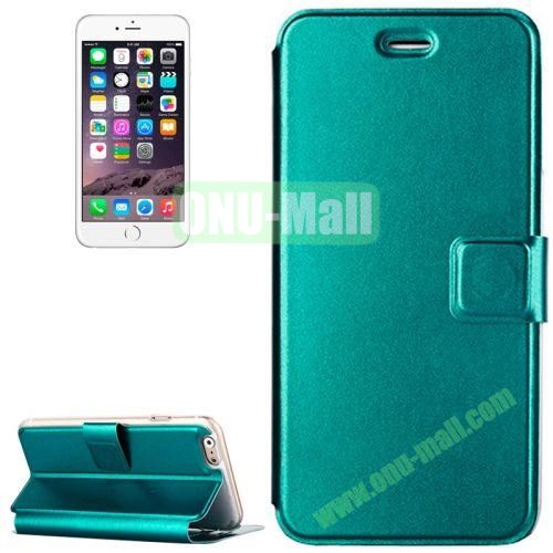 Voltage Horizontal Flip Stand Leather Case for iPhone 6 (Green)