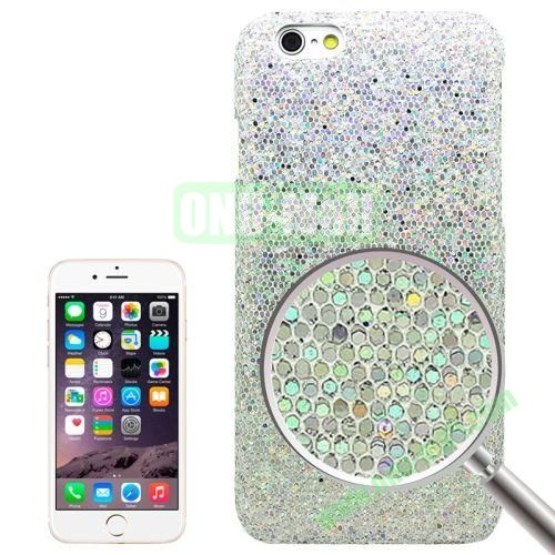 Shimmering Powder Electroplating Hard Case for iPhone 6 (White)