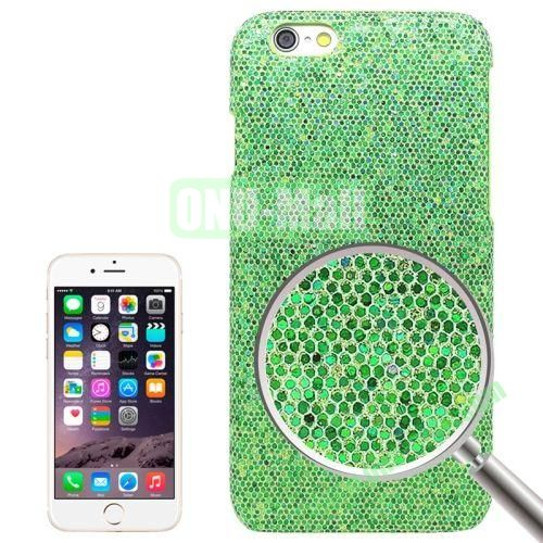 Shimmering Powder Electroplating Hard Case for iPhone 6 (Green)