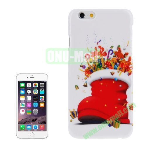 Christmas Series Best Gifts Plastic Hard Case for iPhone 6 (Red Sock)