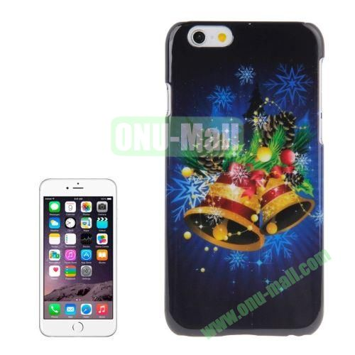 Christmas Series Best Gifts Plastic Hard Case for iPhone 6 (Christmas Bell)