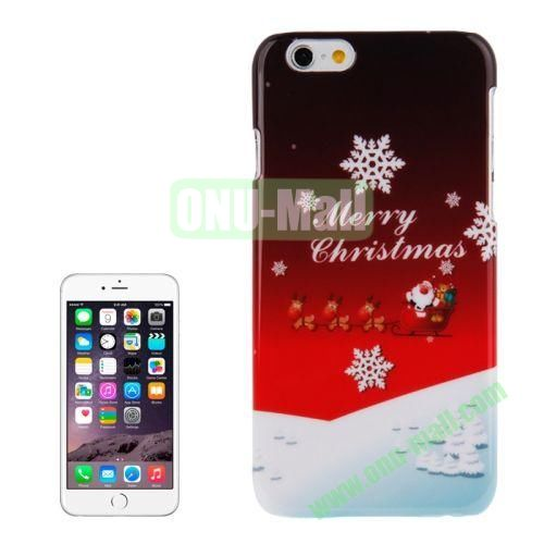 Christmas Series Best Gifts Plastic Hard Case for iPhone 6 (Merry Christmas)