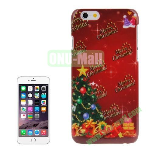 Christmas Series Best Gifts Plastic Hard Case for iPhone 6 (Christmas Tree)
