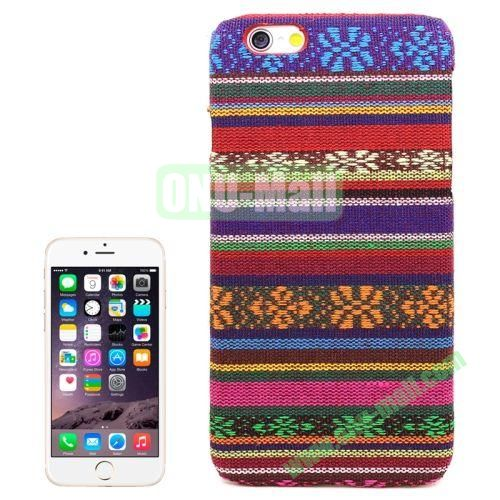 Aztec Tribal Pattern Retro Skinning Plastic Case for iPhone 6 (Pattern 8)