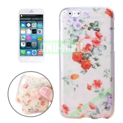 Newest Design Printed Images Transparent TPU Case for iPhone 6 Plus (Oil Painting)