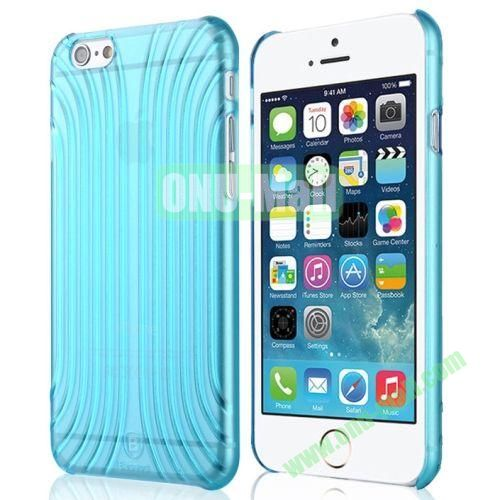 Baseus Shell Pattern Plastic Case for iPhone 6 Plus (Blue)