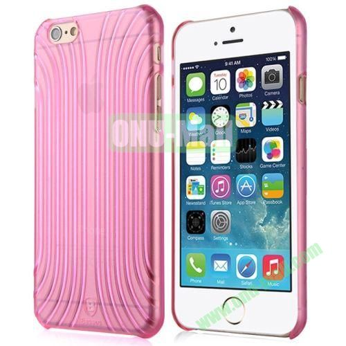 Baseus Shell Pattern Plastic Case for iPhone 6 Plus (Rose)