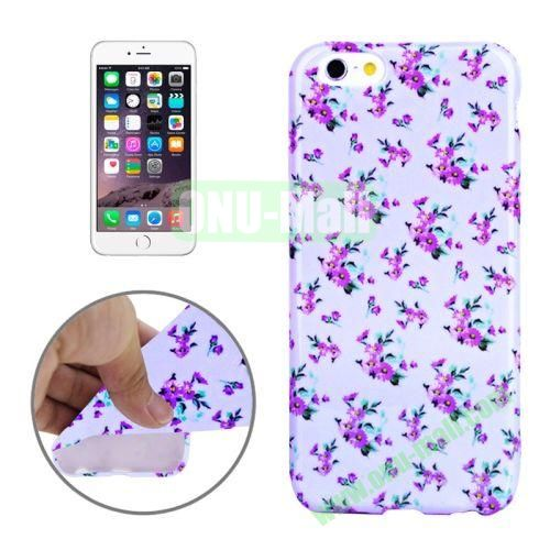 3D Printing Skillful Design TPU Case for iPhone 6 4.7 inch (Aster Flower)