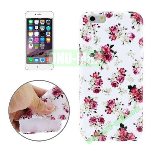 3D Printing Skillful Design TPU Case for iPhone 6 Plus (Pink Rose)