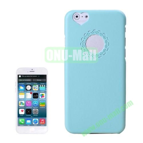 0.7mm Plastic Hard Back Case for iPhone 6 4.7 Inch (Baby Blue)