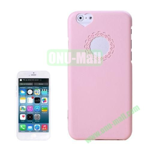 0.7mm Plastic Hard Back Case for iPhone 6 4.7 Inch (Pink)