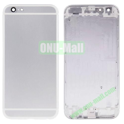 High Quality Back Housing Cover Replacement for iPhone 6 4.7 (White)