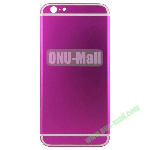 High Quality Back Housing Cover Replacement for iPhone 6 4.7 (Hot Pink)