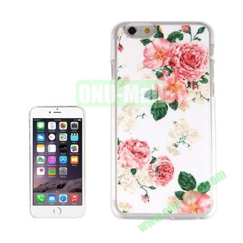 New Arrival Personalized Design 3D Plastic Case for iPhone 6 4.7 inch (China Rose)