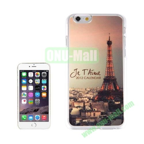 New Arrival Personalized Design 3D Plastic Case for iPhone 6 4.7 inch (City Tower)