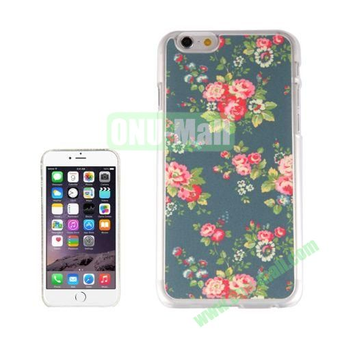 New Arrival Personalized Design 3D Plastic Case for iPhone 6 Plus (Blossoming Flowers)