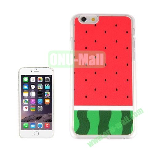 New Arrival Personalized Design 3D Plastic Case for iPhone 6 4.7 inch (Watermelon)