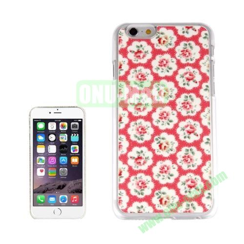 New Arrival Personalized Design 3D Plastic Case for iPhone 6 Plus (Flowers Filled)