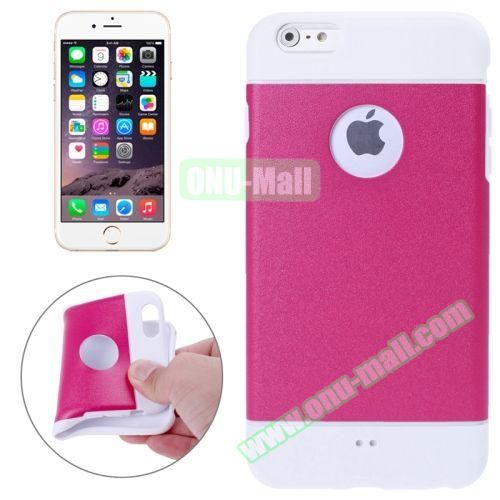 Color Mixed Style Soft TPU Case for iPhone 6 Plus (Rose)