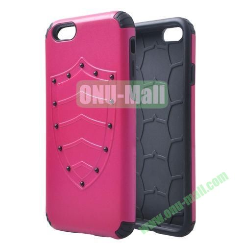 Shield Series Hybrid Silicone and PC Combination Case for iPhone 6 4.7 Inch (Rose)