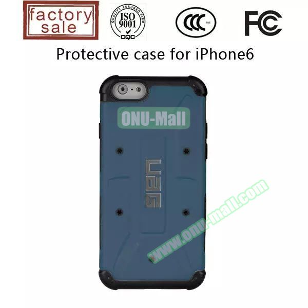 UAG Series Protective Hybrid TPU and PC Case for iPhone 6 Plus (Blue)