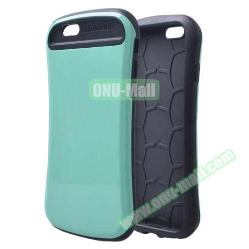 Thin Waist Series PC + Silicone Combination Case for iPhone 6 Plus (Green)