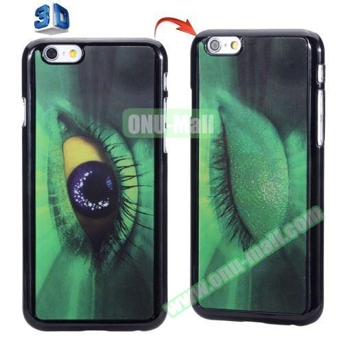 3D Printed Effect Personalized Design Hard PC Case for iPhone 6 Plus (Avatar Eye)