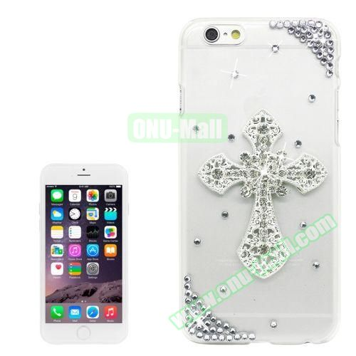iPhone 6 Plus Case with Shinning Synthetic Diamond (Cross)