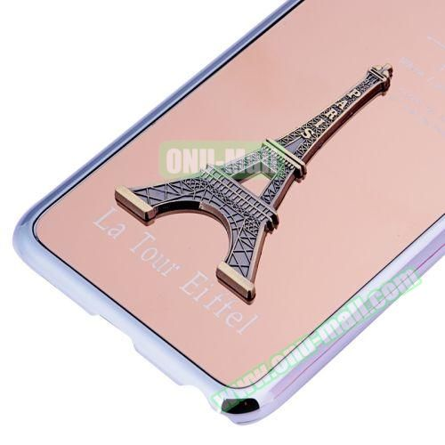 3D Eiffel Tower Plating Skinning Hard Case for iPhone 6 Plus (Champagne)